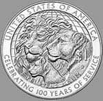 International Centennial Silver Dollar, 2017
