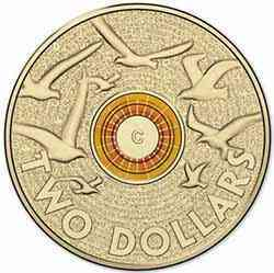 2 Dollars Remembrance Day -C-
